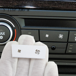 Car Styling For BMW 1 3 Series X1 X3 E87 E84 E90 Wind Air Volume air conditioning Fan buttons switch Covers Stickers and decals