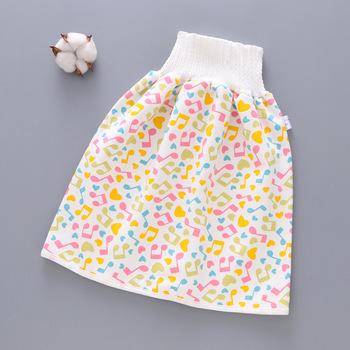 Nowo wygodne spodenki na pieluchy dla dzieci 2 w 1 wodoodporne szczelne zmywalne spodnie dla dzieci Kid Diaper BN99 tanie i dobre opinie Swokii Pasuje prawda na wymiar weź swój normalny rozmiar Trouser skirt