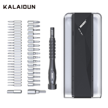 KALAIDUN דיוק מברג סט Torx קצת מברג ביטים פיליפס מגנטי מחזיק 45 ב 1 טלפון נייד תיקון יד כלי ערכת