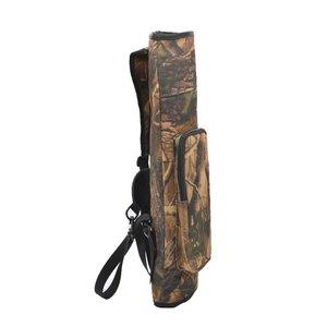 Image 5 - 1 шт., рюкзак для стрельбы из лука, колчан, сумка через плечо, чехол со стрелкой, держатель, 40 стрел, изогнутый лук, принадлежности для охоты, стрельбы