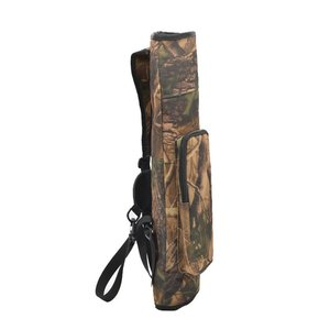 Image 5 - 1pc tir à larc flèche carquois sac à dos sac à bandoulière dos flèche porte étui 40 flèche composé arc classique chasse tir accessoires