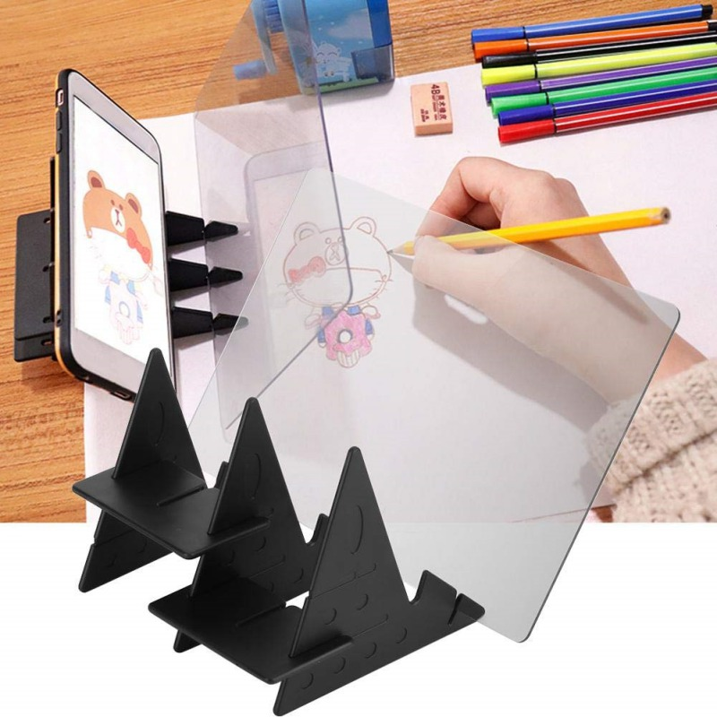 Optical Kid Drawing Panel Tracing Board Copy Pad Crafts Portable Zero-based Painting Mould Anime Sketch Art Toy Children Gift