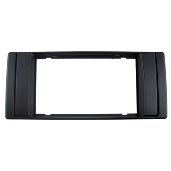 Car Dash Frame Radio Fascia for BMW X5 (E53) 5 (E39) 1995-2003 2DIN AutoStereo Panel kit CD Trim Installation image