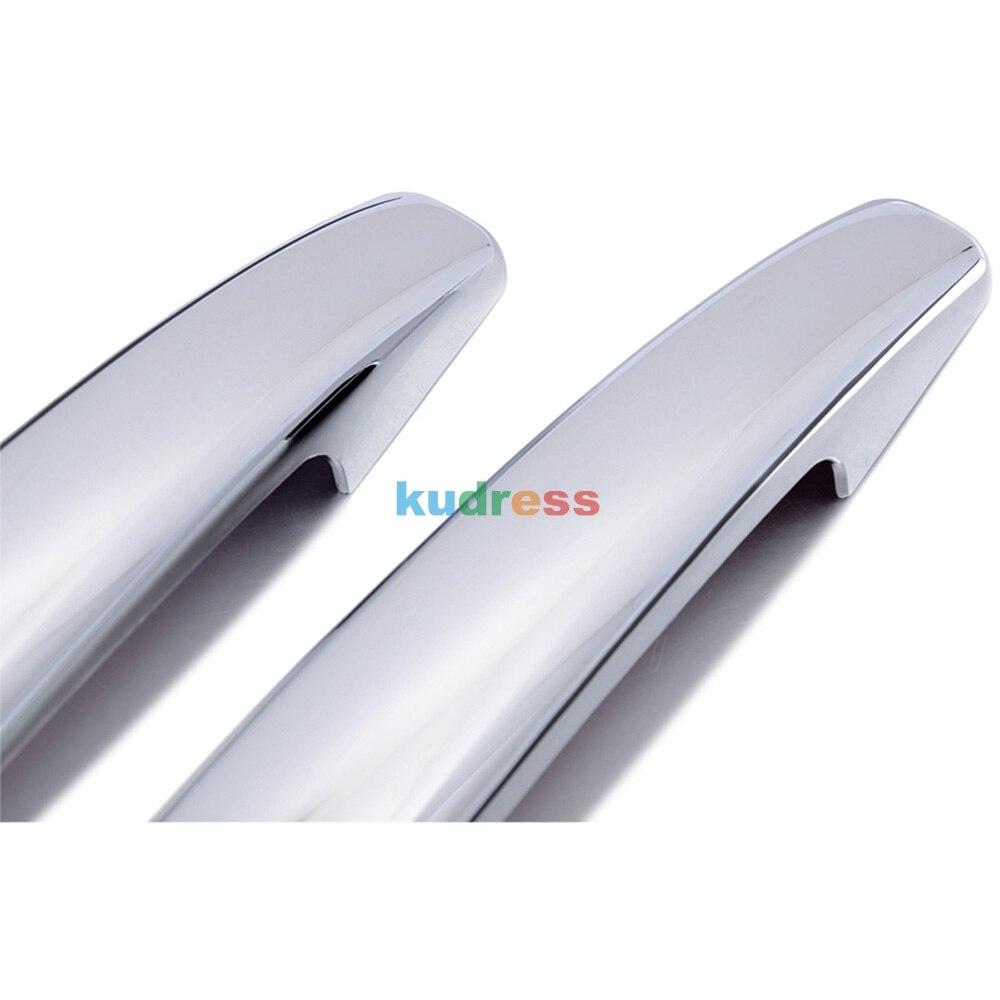 Для CITROEN C4 2004-2008 2009 2010 ABS хромированная дверная ручка защелка защитная наружная ручка рукоять крышки 8 шт