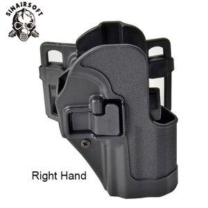 Image 2 - SINAIRSOFT CQC HK USP Belt Tactical Holster Black Paddle Right Hand or Left Hand Pistol Gun Holster For HK Compact USP