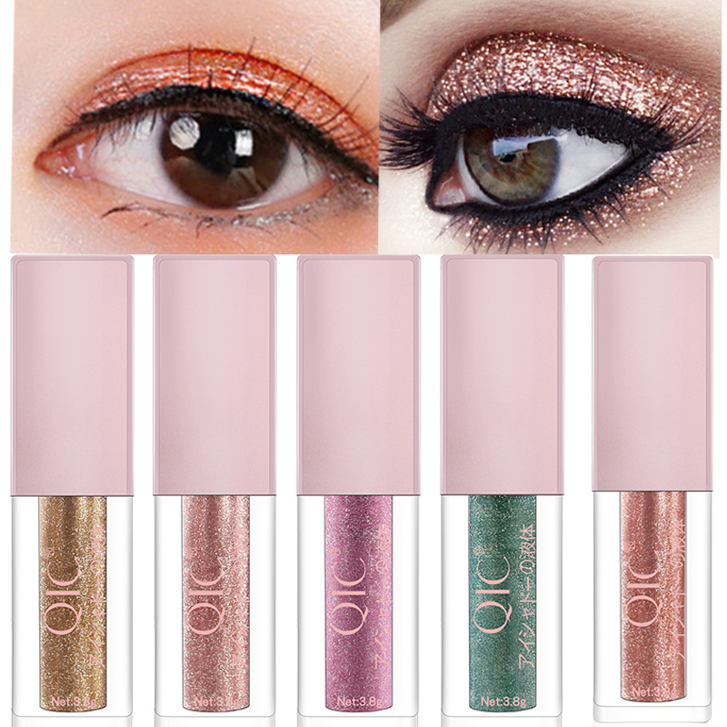 Hot Liquid Glitter Eyeshadow Eyes Makeup Shimmer Liquid Diamond Pearly Shinning Cream for Eye Shadow Eyeliner Make up Eye Liner
