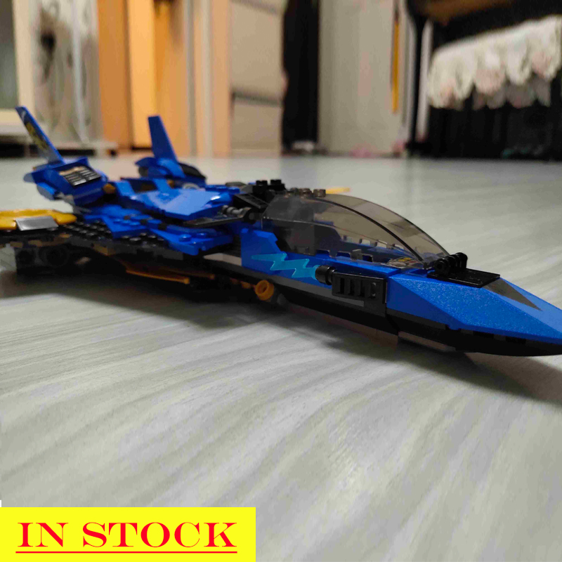 11162 In stock LEGACY Jay's Storm Fighter Spaceship Wars Model Blocks Toys Bricks Compatible legoings <font><b>Ninjagoed</b></font> <font><b>70668</b></font> SY1254 image