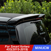 Car Exterior Air Deflector Empennage Sopiler Roof Decoration ABS Sticker For New Smart 453 fortwo 2019 Car Accessories
