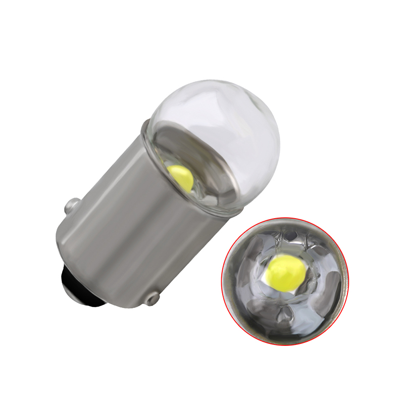 1 pçs ba9s 3030 1smd led carro lâmpada t4w carro led placa de licença luz vidro super brilhante branco dc12v 12913 12910 12929