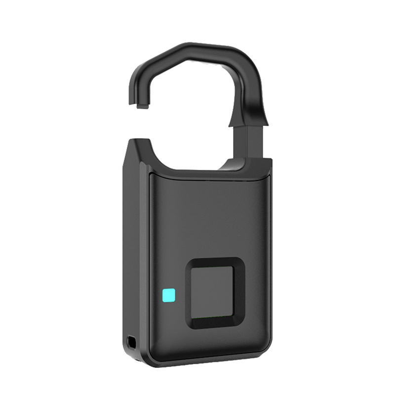 Smart Electronic Padlock Fingerprint Password Lock Travel Suitcase Home