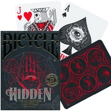Bicycle Hidden Playing Cards Deck Secret Society Symbols Poker Size USPCC Magic Card Games Magic Tricks Props for Magician