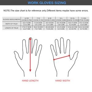 Image 5 - Перчатки с защитой от ударов, вибрационные рабочие перчатки GMG TPR, противоударные амортизирующие ударопрочные перчатки
