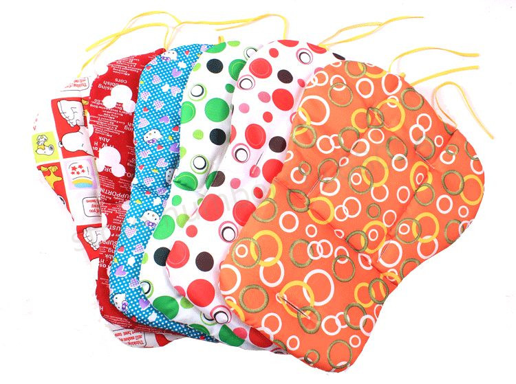 Baby Stroller Thermal Thicken Pad  Seat Cushion Stroller  Mattresses Pillow Cover Child Carriage Car Umbrella Cart