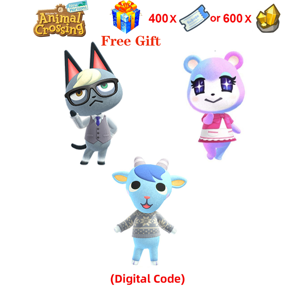 Sherb Animal Crossing New Horizons Rare Villager [Digital Code] For nintendo switch,Does not support refunds!Not <font><b>Amiibo</b></font> <font><b>Card</b></font> image