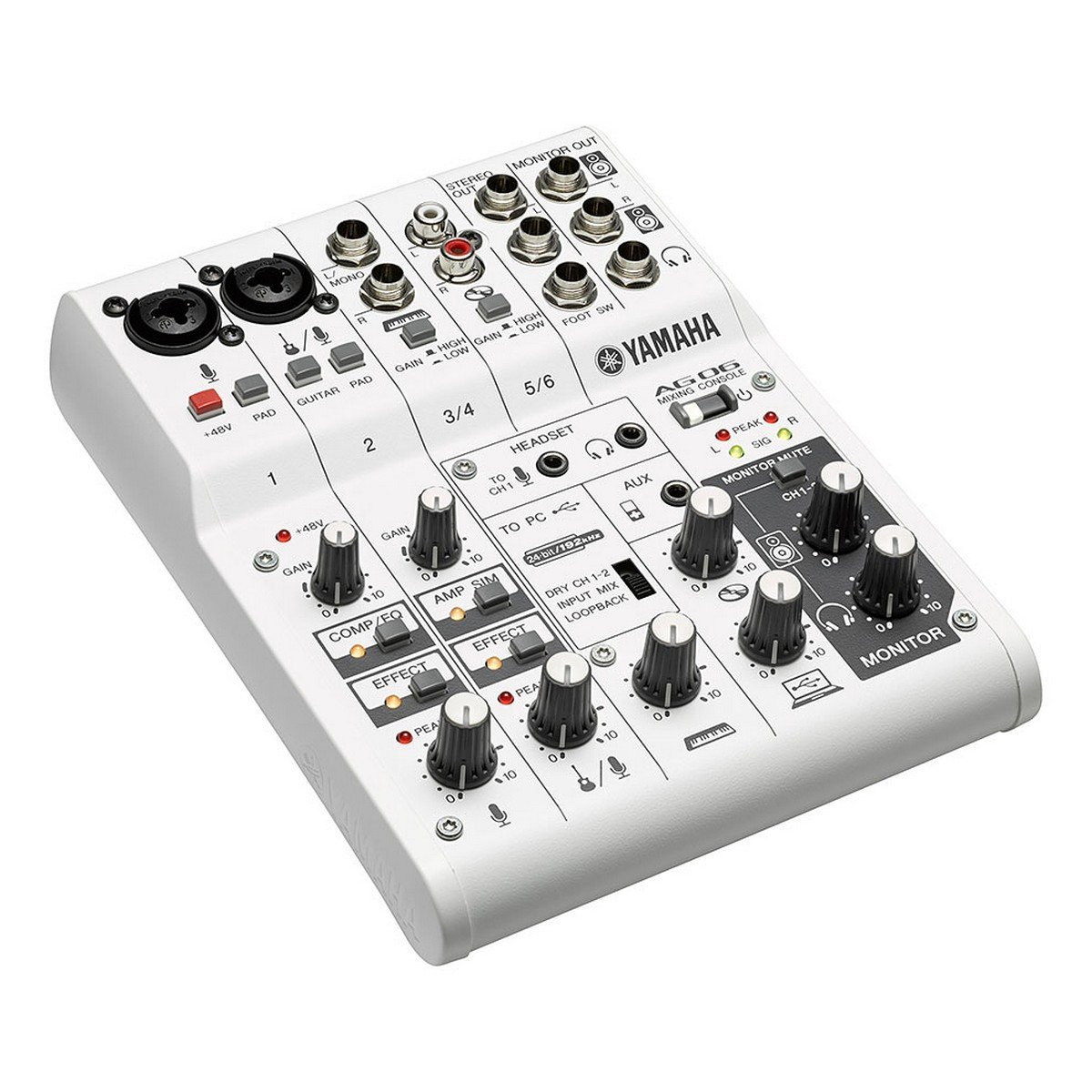 Make For Yamaha AG06 Network Live K Song With Sound Card Sound Console