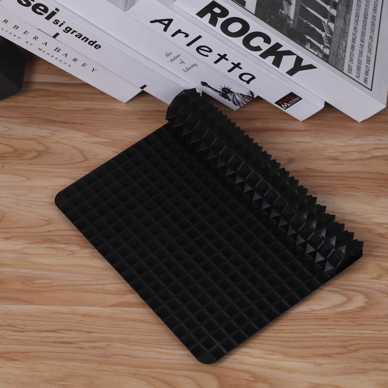 3 Colors Silicone Baking Mat In Non Toxic And High Temperature Resistance For Chocolate And Jelly Pudding 2