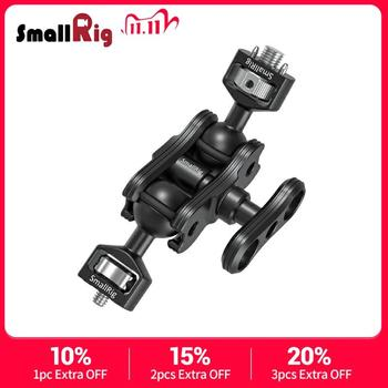 SmallRig DSLR Camera Stabilizer Magic Arm with Double Ballheads with Arri locating Pins and 1/4″ Screw For Monitor Support 2115