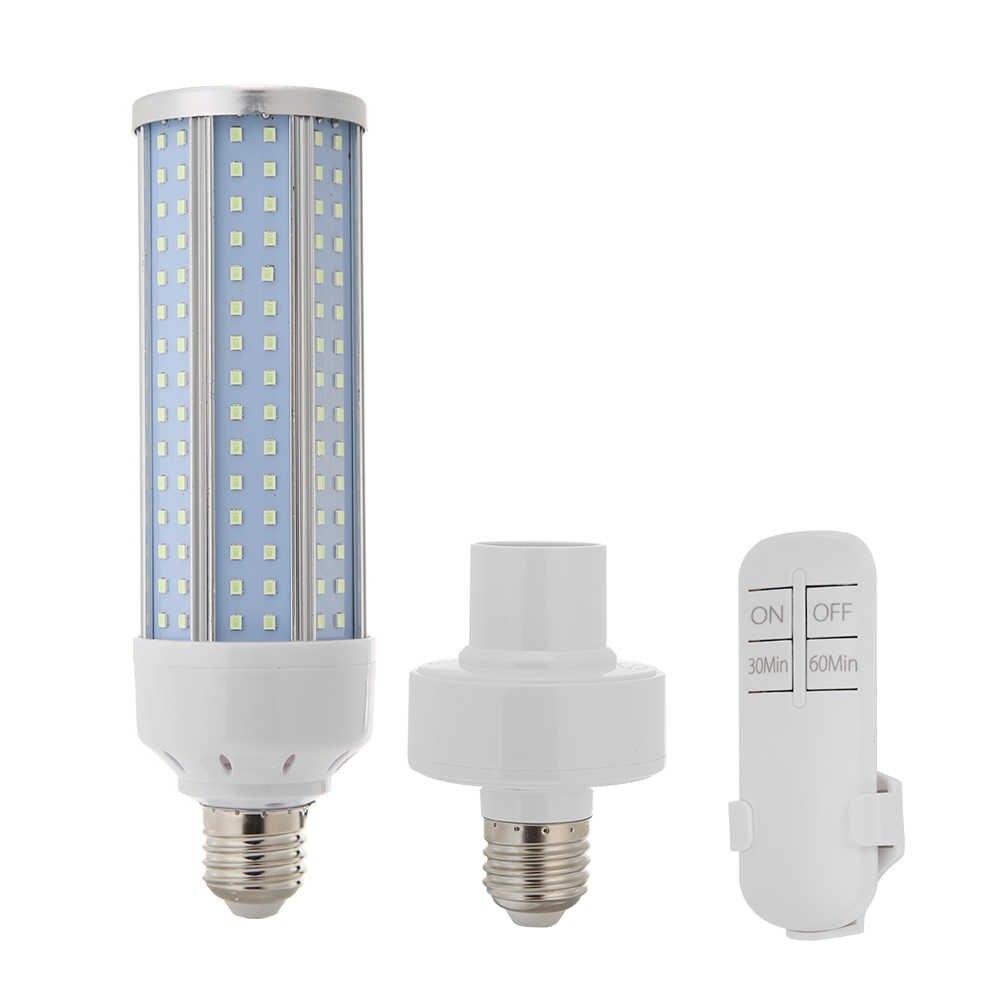 36W Uv Kiemdodende Lamp Uvc Ultraviolet Corn Bulb Desinfectie Sterilisator Ozon Led Verlichting Thuis Afstandsbediening Timing Doden Mijten