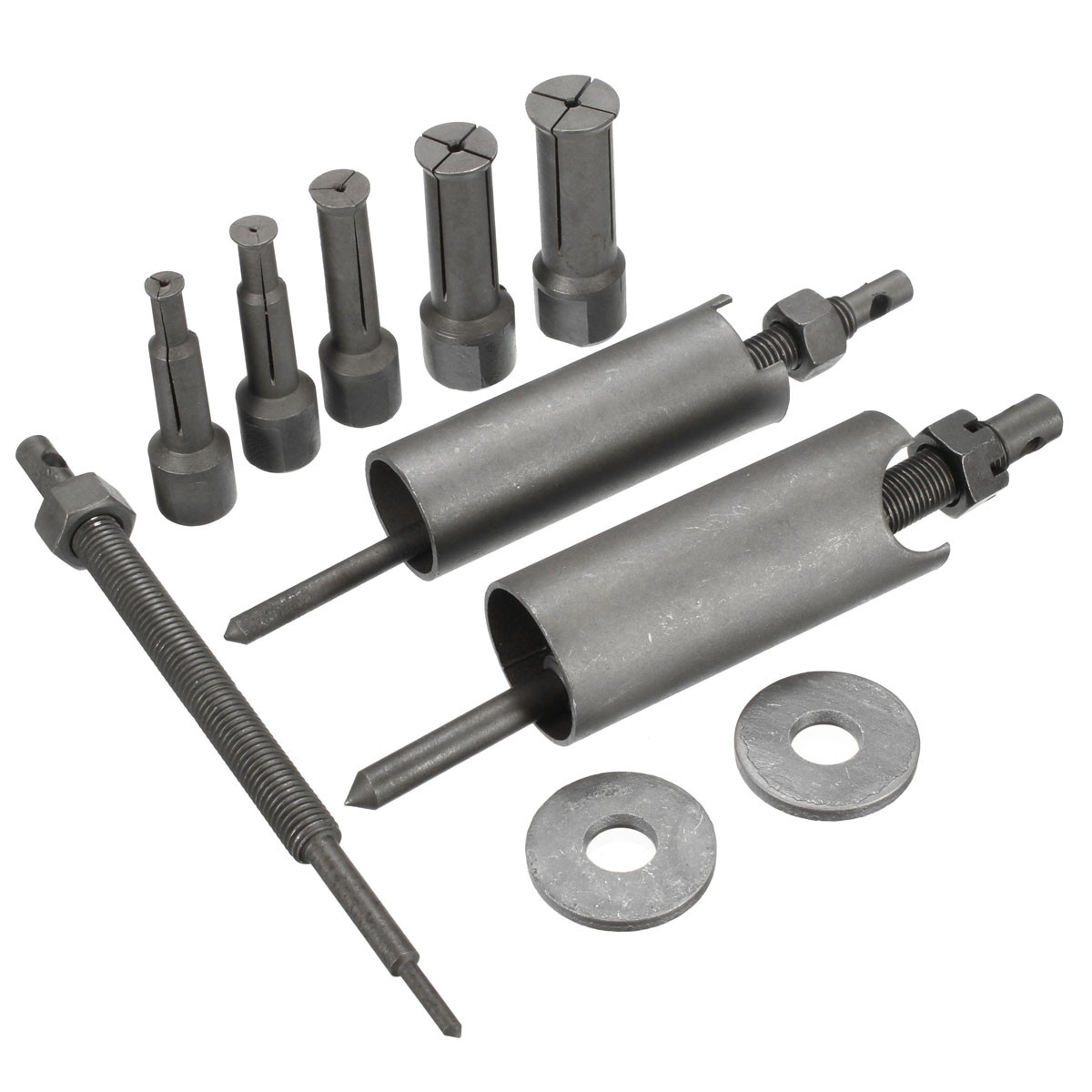 Mofaner 1 Set Stahl Motorrad Auto Inneren Lager Puller Tool Remover Kit 9mm zu 23mm Durchmesser