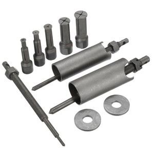 Mofaner 1 Set Steel Motocycle Car Inner Bearing Puller Tool Remover Kit 9mm to 23mm Diameter