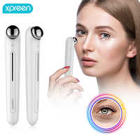 Xpreen Eye Massager Anti Aging Wrinkle Eye Patch Ion Relief Massage Machine Rejuvenation Beauty Care Portable Pen Eye Care Tools