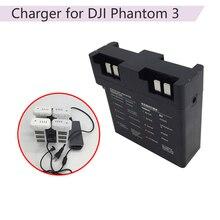 Cubo de carregamento rápido da bateria paralela inteligente para dji phantom 3 se zangão avançado multi adaptador de carregador de bateria acessório
