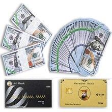 Бумажные банкноты в виде неба, монета, предродка, доллар, предродитель, банк, искусственные деньги для подарков, фэн-шуй, сувенир на день рожд...