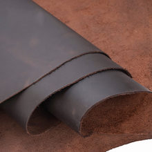 2.0mm Genuine Crazy Horse Leather Cowhide Leather Genuine Leather for Diy Leather Craft for Belt Wallet Bag Shoes Notebook