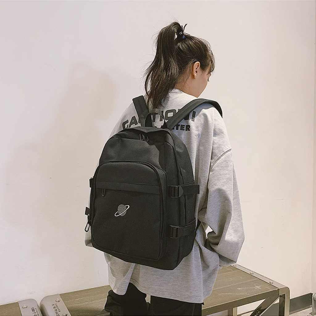 Klasik Oxford kadın sokak sırt çantası büyük kapasiteli fermuarlı cep sırt çantası okul seyahat gençler için sırt çantası # xes