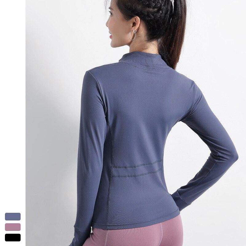 Осенняя спортивная куртка женская рубашка с длинным рукавом