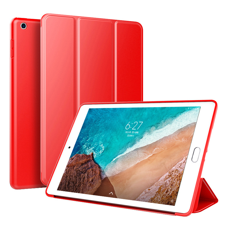 10.2 Case Back for PC Slim Translucent 2019 7th iPad Leather Trifold generation Smart