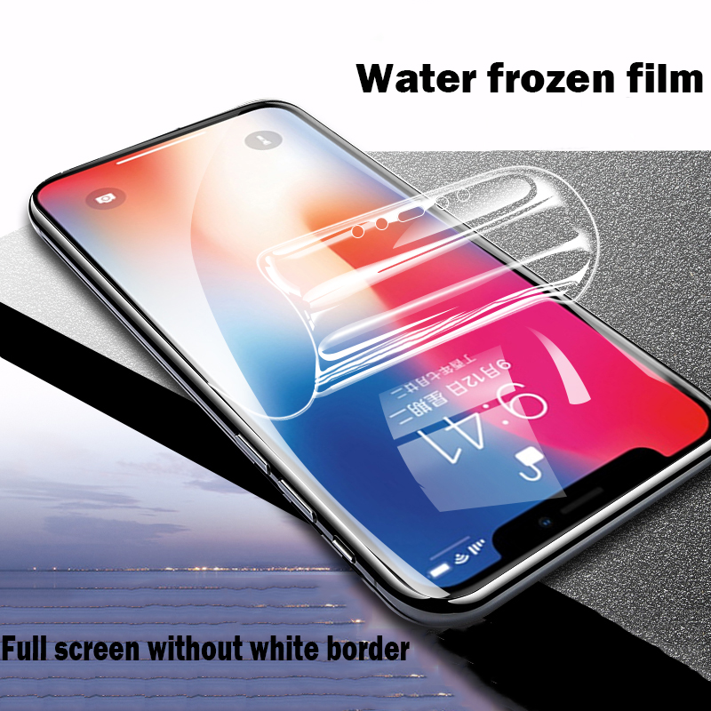 Full Cover Soft Hydrogel Film For IPhone 11 Pro X XS MAX XR Screen Protector For IPhone 6 7 8 Plus Protective Film ( Not Glass )
