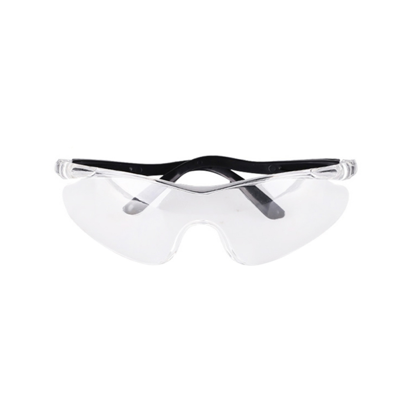 1 PCS Kids Safety Glasses Lab Eye Protection Clear Lens Outdoor Protective Eyewear Transparent Adult Safety Goggles