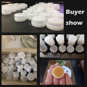 Image 2 - Frasco vacío de 5/10g para cosméticos, contenedor de maquillaje, botellas redondas rellenables, crema facial, Gel de sombra de ojos, caja de Perfume Suncreen, 50 Uds.
