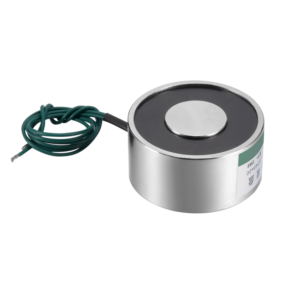 Uxcell 40mm X 20mm DC12V 250N Sucking Disc Solenoid Lift Holding Electromagnet