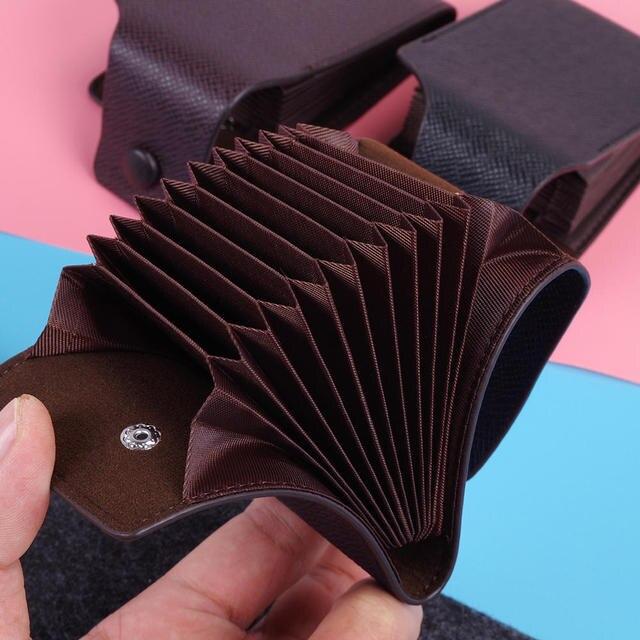 Leather Wallet ID Credit Card Pocket Organizer Money  6