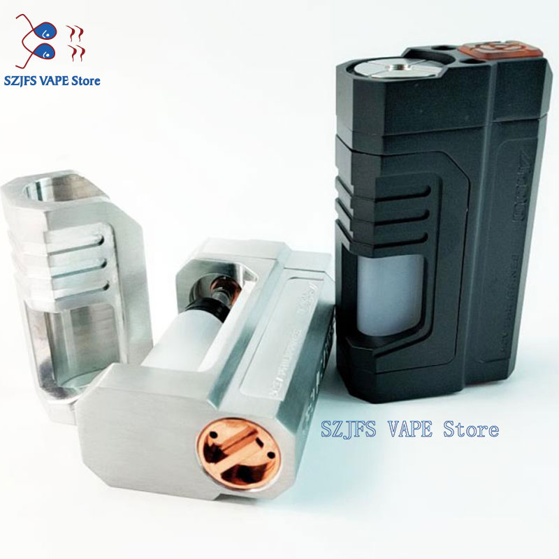 Reactor Squonk Box Mod Screen Vape Fit 18650 Battery Mechanical Pen Fit Vs Dna 250 75 Cold Steel 100 Luxury TC MOD Vs Sxk 60w Mo