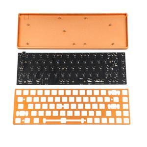 Image 5 - YMDK clavier mécanique entièrement Programmable, 68 CNC boîtier en aluminium plaques, stabilisateur de plaques PCB, Kit de bricolage