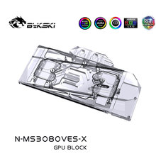 Water-Block RTX3080 Bykski Copper 3X10G MSI Ventus Gpu-Card/full-Cover A-Rgb/rgb Use-For