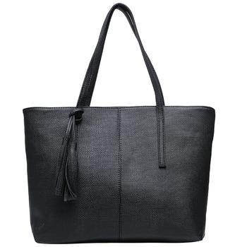 Vintage Women Leather Handbags Female Shoulder Bags Ladies Tote Soft Top-handle Bag for Women Casual Big Shopping Purse