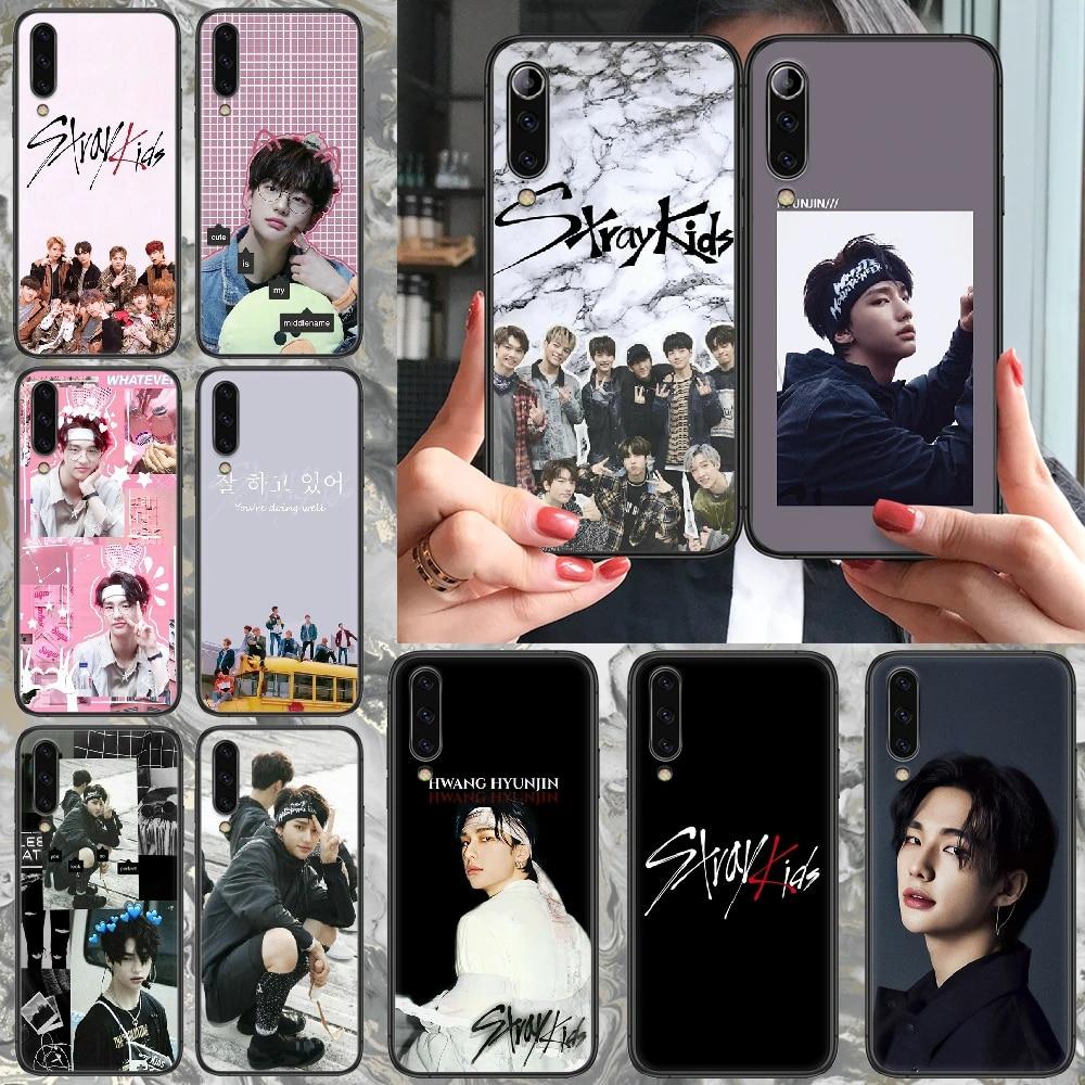 kpop stray kids hyunjin Phone case For Samsung Galaxy A 5 10 20 3 30 40 50 51 7 70 71 E S 4G 16 17 18 black funda pretty coque