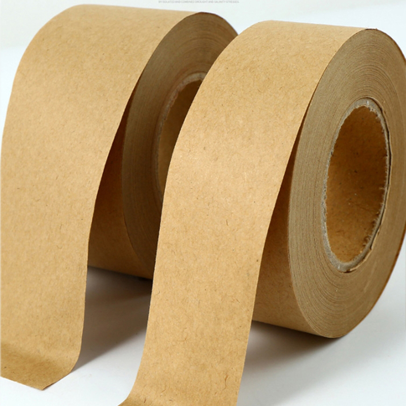 Bgln 45m Kraft Paper Water Tape 3.6/4cm Wide Watercolor Painting Hydrosol With No Trace Tape Seal Art Supplies