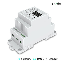 Wholesale D12/D24/D4-XE/D4-L/D4/ DS/DS-L/D4-P/D4-E Constant Voltage DMX512&RDM Decoder RGB led strip controller led light dimmer 90%new and original for niko d4 mirror box 1f999 323 d4 front body unit