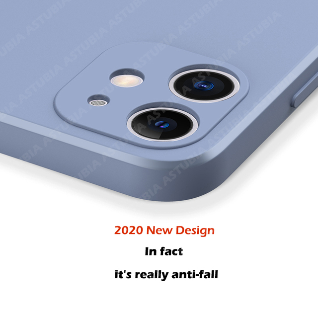 2020 New Luxury Liquid Silicone Case For iPhone 11 Pro Max 12  protector Case For iPhone X XS MAX XR 7 8 6 6S PLUS SE 2020 Cover 3