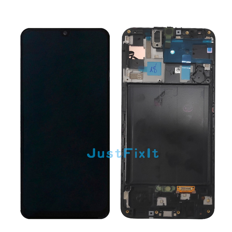 Image 3 - 100% Original For Super Amoled For Samsung Galaxy A50 SM A505FN/DS A505F/DS A505 LCD Display Touch Screen Digitizer Assembly-in Mobile Phone LCD Screens from Cellphones & Telecommunications
