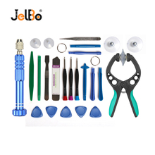 JelBo Mobile Phone Repair Tool Set LCD Screen Opener for iPhone Torx Screwdriver Suction Cup Disassemble Repair Tools Kit diyfix phone repair tools set electric lcd glue remover dispergator for iphone mobile phone lcd touch screen repair tools kits
