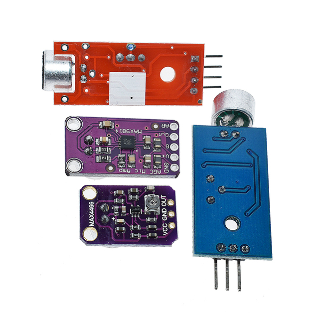 Selling Sound sensor module sound control sensor MAX4466 MAX9814switch detection whistle switch microphone amplifier For Arduino 4