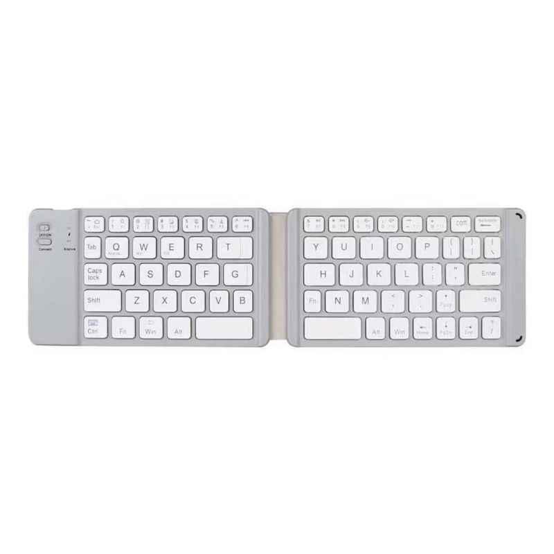 Мини Портативная Складная Bluetooth клавиатура для мобильного телефона/планшета/ПК беспроводные клавиатуры Teclado