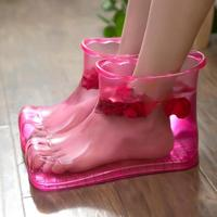 Foot Bath Massage Boots Household Relaxation Slipper Shoes Foot Care Tools Compress Foot Soak Theorapy Massage Acupoint Sole