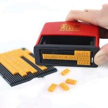 Chen million manual printer inkjet printing machine production date shelf life code card slot c2-6